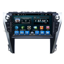 Wholesale Toyota Car Navigation Dvd - Automotivos car dvd audio radio gps navigation system with wifi audio 3g touchscreen for Toyota Camry 2015 Europe