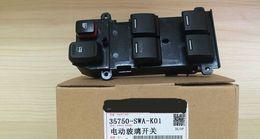 Wholesale Power Windows Honda - 35750-SWA-K01 Power Window Master Control Switch for 2007-2011 Honda CR-V CRV