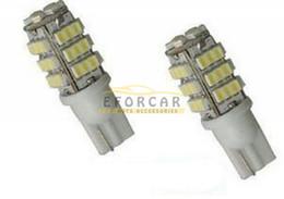 Wholesale Car Turn Signal Lights - New Car Xenon White 6000K T10 921 42-SMD 1206 LED Backup Reverse Light Bulbs free shipping