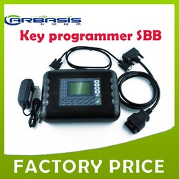 Wholesale Dhl Sbb Key Programmer - 2016 Professional Auto tool key programmer SBB v33.02 SBB key programmer with DHL free shipping