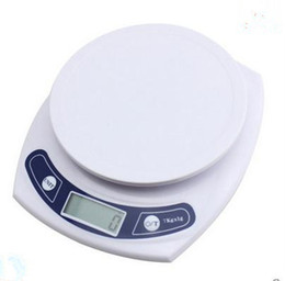 Wholesale Values Types - Authentic power value (7 kg) electronic kitchen scale g said electronic meter white food