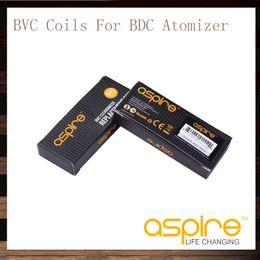 Wholesale Vivi Nova Coil Heads - Aspire BVC Coils Head For Aspire BDC Atomizers CE5 CE5S ET ETS Vivi Nova Mini Vivi Nova BDC Replacement Coils 1.6 1.8 2.1 ohm