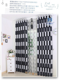 Wholesale Green Blackout Curtains - High-grade green black silk curtains custom curtain living room bedroom balconycurtain