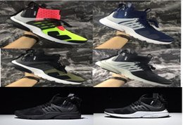 Wholesale Floor Bamboo - 2017 Acronym Air Presto Mid Running Shoes,Discount Cheap Sneaker Trainers Sportswear,Black-bamboo Lava olive cargo green Sports Running Shoe