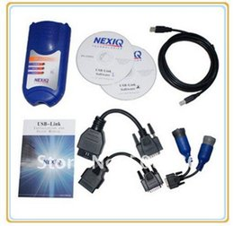 Wholesale Ford Truck Seats - NEXIQ 125032 USB Link With All Installer Profeessional nexiq Truck Diagnostic Tool scanner Free Update with Free Shipping