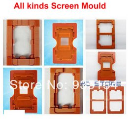 Wholesale Cellphone Lcd Separator - Free shipping! 10 pcs lot Mould Molds for cellphone of LCD Touch Screen Separator for Samsung Iphone HTC, lcd separator kit