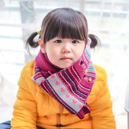 estola Rebajas Venta al por mayor de colores jacquard patrón de punto bufanda clásica de algodón suave niños otoño invierno cálido abrigo de bebé bufandas anillo chal bufanda gruesa