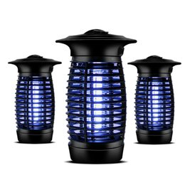 Wholesale Electronic Photocatalyst - Top quality LED Electronic Photocatalyst Mosquito Killer lamp protection against Fly Bug Zapper Insect pest 1 2 Acre Coverage