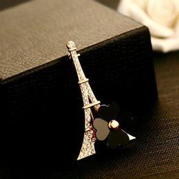 Wholesale C Brooches - c*c Free shipping Brand New 2014 CC brooches for CC wedding paris fashion flower brooch pin