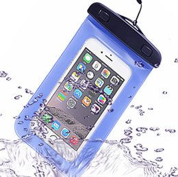 Wholesale Galaxy S4 Case Underwater - Universal PVC Waterproof phone Case water resistance Cellphone bag Underwater Pouch with Lanyard For Samsung Galaxy S3 S4 S5 iphone 4 5 6