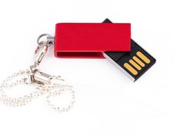Wholesale Shock Rings - Metal Swivel Metal Key Chain Ring Memory Stick Flash Drive Storage USB 2.0 64GB 128GB Metal Swivel Metal Key Chain Ring 60pcs NEW