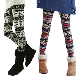 Wholesale Leggings Snowflakes - Wholesale-Leggings Ladies Winter Retro Knitted Snowflakes Multi-Colors Figure Leggings