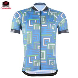 Wholesale men spandex models - High quality ZM model maze men's cycling cycling jersey 2018 bike clothes summer breathable bicycle clothing
