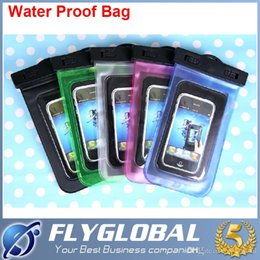Wholesale Clear Waterproof Cases Galaxy S4 - Universal Clear Waterproof Pouch Underwater Dry Bag Case Cover For iPhone 6 plus iphone6 Samsung Galaxy s6 S5 S4 S3 note 3 4 LG g3