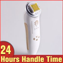 Wholesale Radio Frequency Face - Birthday Gift Personal Skin Care Skin Tightening Face Fractional RF Radio Frequency Portable Beauty Machine