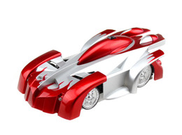 Wholesale Toy Climbers - Free Epacket, RC WALL CLIMBER CAR Remote Control Wall Floor Climbing Racing Cars Toy Electric toys Children Toys with Remote control(9920 C)