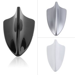 Wholesale Antenna Fins - Waterproof Car Auto Shark Fin Shape Antenna Antistatic Dummy Aerial Roof Brand New