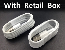 Wholesale Micro Usb Charger Wholesale - 1M 3Ft Micro V8 Sync Data USB Cable Charging Cord Charger Wire Line with retail box for Samsung Galaxy S4 S6 Edge S7 Note 4 5 6 7 HTC Phone