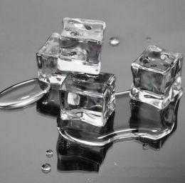 Canada Vente en gros-50pcs mariage partie artificielle acrylique glaçons cristal clair décoration cheap crystal for wedding decorations clear Offre