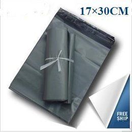 Wholesale Mailing Mail Postal Post Bags - 17x30cm Poly Self-seal Self Adhesive Express Shipping Bags Courier Mailing Plastic Bags Envelope Courier Post Postal Mailer Bags