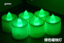 Wholesale Tea Lights Battery Free Shipping - LED candles christmas decorations LED Tealight Tea Candle Light Battery Valentine's Day Birthday Party Wedding free shipping
