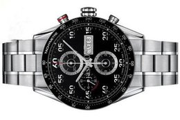 Wholesale Grand Calibre Automatic - Free Shippng Luxury Brand men mechanical watches black dial automatic grand calibre 16 day date stainless steel mens dive watches TH506