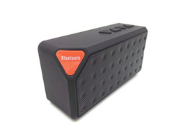 X3 Mini portatile senza fili Bluetooth Speaker TF Card Radio FM Subwoofer Bass Music Player MP3 con MIC Handfree per iPhone 6 Plus S5 US07 da