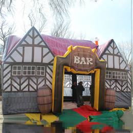 Sıcak satış şişme Pub Bar, şişme Pub Evi, Bira Reklam için Orjinal Şişme İrlanda pub şişme Sergi Pub Çadır nereden