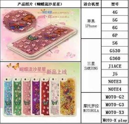Wholesale Quicksand 4s - Colorful Moving Stars Liquid Glitter Quicksand 3D Bling Phone Case Cover For Apple Iphone 6 Plus iphone5 5S 4S Shining Star Liquid Case