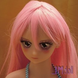 Wholesale Realistic Anime Japanese Sex Doll - NEW! Top quality 80cm japanese anime sex dolls solid love dolls silicone mini sex doll with metal skeleton baby doll