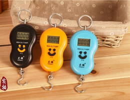 Wholesale Hanging Fishing Scales - 40kg 10g Portable Electronic Digital Scale Hanging Scale Fishing Fish Hook Pocket Weighing Balance Scale fashion new