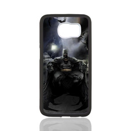 Wholesale Design Case For Galaxy S3 - Batman Comic customized design for samsung galaxy S3 S4 S5 S6 note2 note4 note3 hard plastic cell phone back cover case