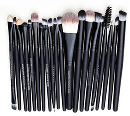 Canada Professionnel 20 pcs / set Maquillage Pinceau Set Outils Maquillage Trousse De Toilette Laine Marque Make Up Brush Set pincel maleta de maquiagem Offre