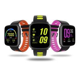 Smartwatch для дешевых онлайн-GV68 Спорт Smart Watch IP68 Водонепроницаемый MTK2502 Bluetooth-соединение Носимое устройство Heart Rate для Android IOS SmartWatch Браслет дешево