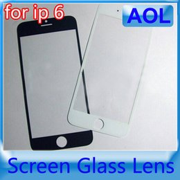 Wholesale Iphone Front Cover Replacement - iPhone 6 4.7 Inch and iphone6 Plus 5.5 inches Front Glass Lens Touch Touch Screen Cover Replacement Parts For iPhone 6 6G