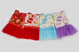 Wholesale Dress For Dogs Red - A46 dog winter Tang suite dress Skirt for 2 legs pet clothing pet dog winter clothes clothes