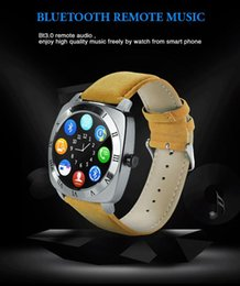 Wholesale Pedometer Mp3 Player - New Fashion Smart Watch X3 Smartwatch Pedometer Fitness Clock Camera Sim Card Mp3 Player For Watchphone