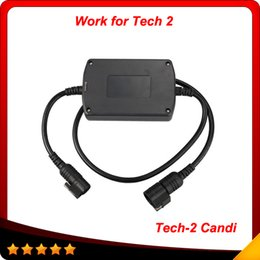 Wholesale Gm Tech High Quality - Hot sale scanner GM TECH2 CANDI interface moduel 100% high quality candi tech 2 for gm free shipping