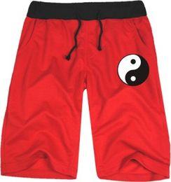 Wholesale Bagua Map - Free shipping New Arrivals Taiji Wushu Bagua map Mens   Women Casual shorts neutral Cotton Blend Short pants Size: xxs-4XL