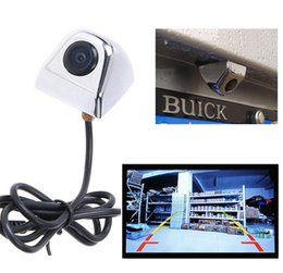 Wholesale Car Cam Parking - CMOS Waterproof Night E366 Car Truck Rear View Reverse Backup Cam 170 car View Rear Camera for Parking car styling
