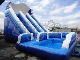 Wholesale Pool Inflatable Slides - High Quality&Factory Price Commercial Inflatable Slide ,Inflatable Jumping Slide With Pool