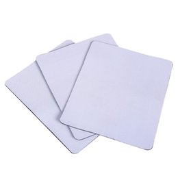 Wholesale Heated Mouse Mat - Wholesale Blank Sublimation Mouse Pads DIY Sublimation Blank Mouse Pad Mats Heat Transfer Print with your own design Mouse Pads 220*180*3