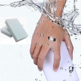 almofadas de melamina Desconto 50pcs Multi-funcional Magia Esponja Eraser Melamina Cleaner Pad Espuma