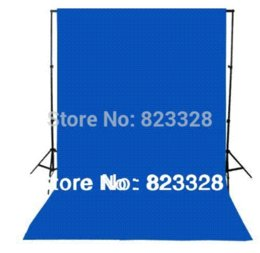 Wholesale Background Muslin Kit - NEW 6x9FT Chromakey Screen Kit 1pc (1.8mx2.8m) 6x9FT for 5color with Background Stand Pro Studio Backdrop 100% Cotton Muslin