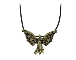 Wholesale Hell Free - Free Shipping Europe and the United States hot Mortal Instruments The city of the bones Angel Pendant Hell Clockwork
