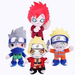"Wholesale Plush Stuffed Naruto - Hot Sale 4 Style 9.5"" 25cm Naruto Plush Doll Stuffed Toy For Child Best Gifts"
