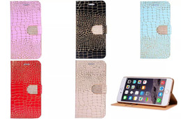 Wholesale Galaxy S3 Credit Card - For iphone 6s 6s Plus 5 5S Samsung Galaxy S6 galaxy s6 edge S4 S3 Note4 Cases Leather Wallet Credit Card Holder Stand Woman Phone cases