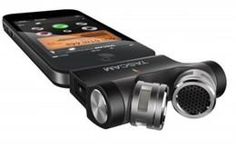 Wholesale Ipad Professional - Tascam Im2x black recording microphone support ios professional microphone for iphone,for ipad ,for ipod
