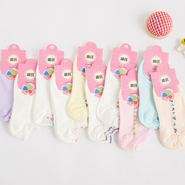 Wholesale cotton spreads - Wholesale-2015 Special Offer New Striped Harajuku Calcetines Slippers Female Cotton Socks Wholesale Spread Bar