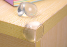 Wholesale Round Shelves - Round Corner Protectors Corner Cushions For Glass Tables Or Shelves With 3M Sticker Baby Safe